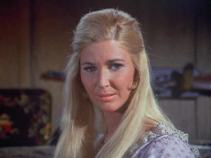 Charlotte Stewart as Lisa Campbell in Bonanza - The Stalker