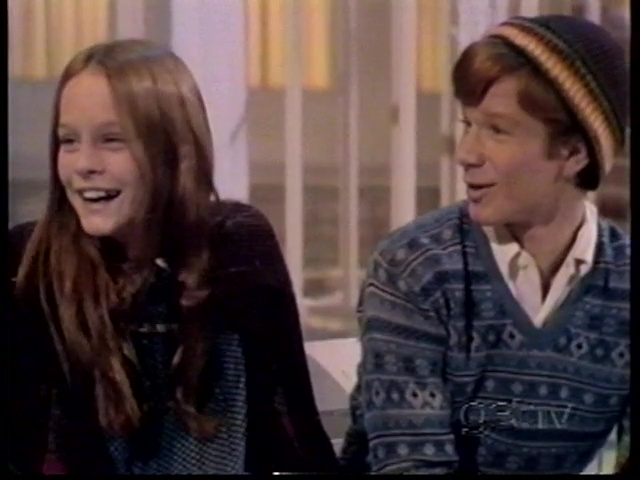 Mary McDonough and Eric Scott on The Merv Griffin Show (1973)