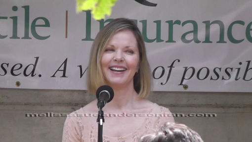Melissa Sue Anderson at Genesee Country Museum 2014