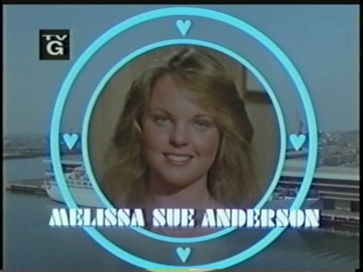 Melissa Sue Anderson in opening credits