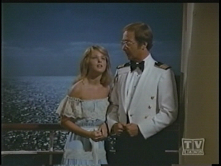 Melissa Sue Anderson trying to be romantic with Doc